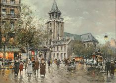 Saint Germain des Prés, Paris