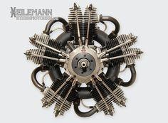 MOKI Radial Engines : MOKI S400 Radial Engine