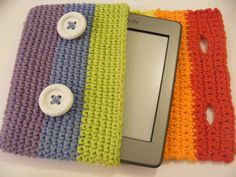 Rainbow Kindle Kozy by dimplegirldesigns on Etsy, $19.99