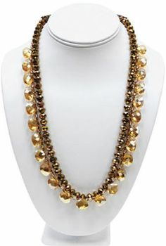 Color Splash Amber Nights Necklace