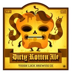Tough Luck Beer Label