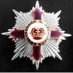 Placa de Caballero Gran Oficial de la Orden de la Corona Imperial (Wagadou-Ghana).
