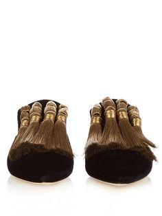 Garcia velvet slippers | Sanayi 313 | MATCHESFASHION.COM