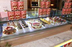 Monchhichi Pop-up Café Pop Up Cafe, Popcorn Maker, Cake, Mudpie, Cheeseburger Paradise Pie, Cakes, Tart, Pastries, Cookie