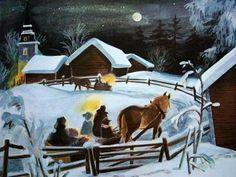 Ilon Wikland il.lustra l'obra d'Astrid Lindgren. Weihnachten in Bullerbü