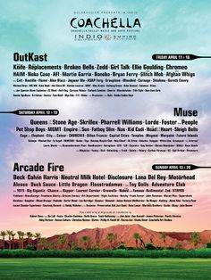 America's greatest music festival, Coachella, is in full swing where heat, crowds and good music collide together to make one.