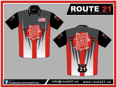 Sublimated work race team pit crew shirts sublimated for Custom race shirts no minimum