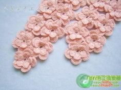 @Brooke Aziz | Complicated crochet? Well it's not!! Just simple flowers attached as you go!! free diagram!