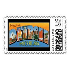 Greetings from Detroit Michigan Postage Stamp we are given they also recommend where is the best to buyShopping Greetings from Detroit Michigan Postage Stamp Review from Associated Store with this Deal...