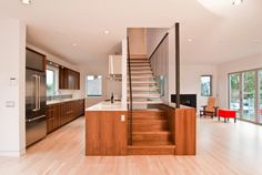 Cabinet Stair by Build LLC⎪Integrated staircase