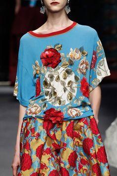 NEW ITALIAN LAGENLOOK FLORAL POCKET COTTON DRESS DENIM FIT 14 16 18 20 C215