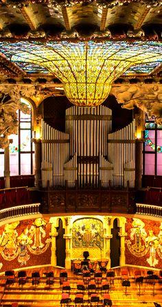 Palau de la Música Catalana, Barcelona.