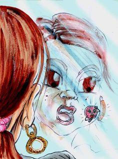 """""""A borbulha"""", uma história com ligação directa às meninas vaidosas..."""