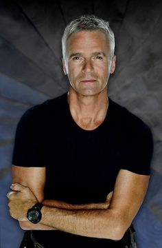 "McGuyver?  Anything that is Richard Dean Anderson! (This is Jack from ""Stargate SG-1"")  Love a gray haired man"