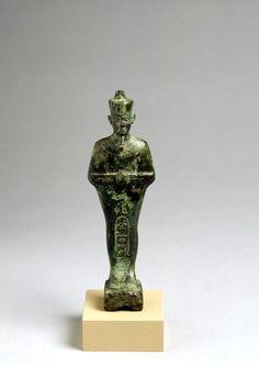 Bronze Shabti of King Bakenranef.Third Intermediate Period,24th Dynasty c.a. 725-720 B.C   .