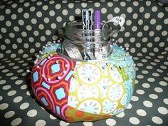 This pincushion looks like a mini gum drop pillow!