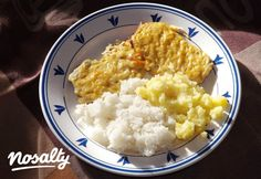 Békebeli mustáros szelet   Nosalty Meat Recipes, Cooking Recipes, Viera, Mashed Potatoes, Macaroni And Cheese, Sausage, Pork, Food And Drink, Rice