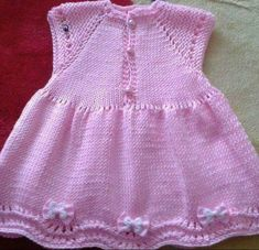 Hairstyles For Kids Easy Cute Knitting For Kids, Baby Knitting, Knitted Baby, Knit Baby Dress, Baby Cardigan, Cute Hairstyles For Kids, Baby Bloomers, Baby Sweaters, Dress Vest