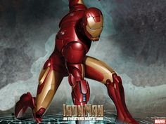 Iron Man Cartoons Wallpaper