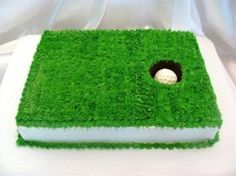 Golf Cake by Coopsrhere