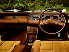 """inside my car"""" Ford Classic Cars, Classic Sports Cars, Ford Granada, Cars Uk, Old Fords, Car Ford, Ford Motor Company, Commercial Vehicle, Vintage Cars"""