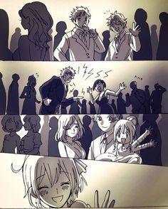 Hataraku Saibou x Fan Art Anime, Desenhos Love, Red Blood Cells, Happy Tree Friends, Anime Love Couple, Couple Drawings, Cool Sketches, Anime Kawaii, Japan Art