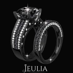 Black Diamond Rings, Black Diamond Engagement Rings Jeulia's goal is to provide beautiful, heirloom quality jewelry at an affordable price. We have thousands of breathtaking original designs that.