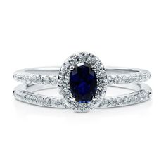 Oval Sapphire CZ 925 Sterling Silver 2Pc Halo Wedding Ring Set 0.43 Ct - Nickel Free Engagement Wedding Ring Set Size O BERRICLE, http://www.amazon.co.uk/dp/B00H58Y858/ref=cm_sw_r_pi_dp_vua8sb1AGZN2P