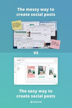 Who has time to switch between 5 apps to post 1 measly post? Save ⏳ &💰 with Tailwind Create—the ONE single tool ready to automate your social media designs.