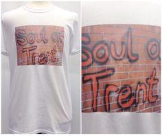 Northern Soul Graphic T-shirt //Soul-on-Trent//Soul//Music//Grafitti//Handmade by TheGrungeMonkey on Etsy https://www.etsy.com/listing/222156002/northern-soul-graphic-t-shirt-soul-on