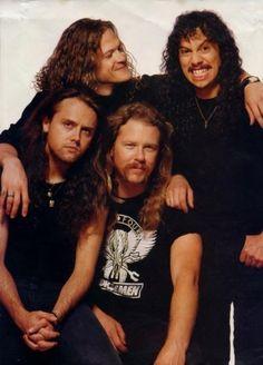 This lineup of Metallica with Jason Newsted on bass Robert Trujillo, James Hetfield, Jason Newsted, Hard Rock, Dave Mustaine, Thrash Metal, Iron Maiden, Woodstock, Rock Music