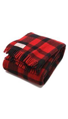 Filson Mackinaw Wool Throw Blanket