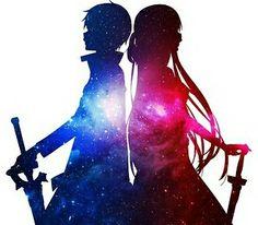 Galaxy Girl & Boy
