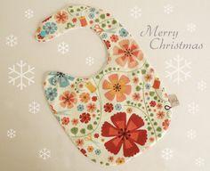 Baby bib sweet gift idea for Christmas by Melimebabybeeshop, $12.00