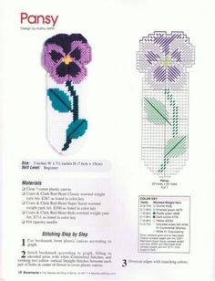 PANSY Bookmark