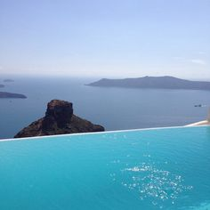 thesuites SANTORINI Blue, discover the best place to be in calm #blue #design #greece #santorini #thesuites #nohotels