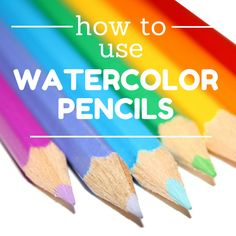 By Nicole Tinkham Recently, we had one of our art specialists do a demo featuring watercolor pencils at a Super Saturday Sale. Participants sat down at the demo table and experimented with the penc...