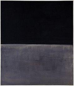 UNTITLED (BLACK ON GREY), Mark Rothko, 1970, Solomon R. Guggenheim Museum, New York