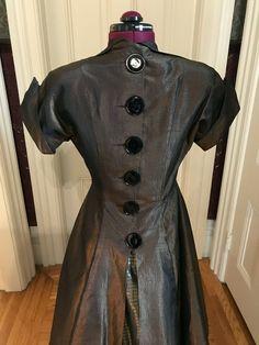 Button Dress, Button Up, Taffeta Dress, Women's Fashion, Shirt Dress, Big, Shirts, Outfits, Dresses