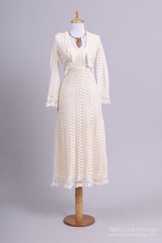 1960 Crochet Bolero