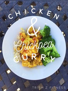 Click the picture for recipe! This easy curry is protein packed & perfect for a quick weeknight meal! :)