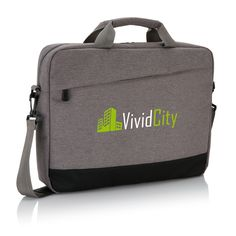 Protect and store your laptop in style in this trendy duo tone polyester laptop bag. 2 sided main compartment for your gear. Duo Tone, Trends, Laptop Bag, Travel Bags, Backpacks, Zipper, Pocket, Black, Store