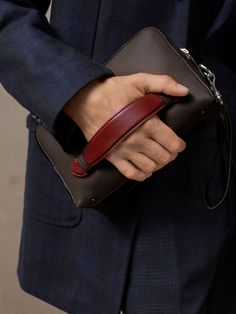 Exquisiteness and fine taste combined with optimum usability. Embossed leather toiletry bag made from bovine leather. Features two main compartments, one inner pocket, one zipped inner pocket, double zip closure, logo-printed lining and embossed emblem. Part of the exclusive Limited Edition collection.