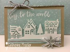 "Welcome back to another week of ""Heart of Christmas"" inspiration from the Art With Heart team. I hope you're enjoying reading our blog as much as we're enjoying making these cards! Well I received my ""little"" order from the holiday catalogue this week but as luck would have it have had very little time to …"