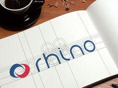 Lifting logotypu Rhino. #logo #marketing #reklama #logotyp