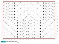Frost Flowers Knitting chart  #knittingsttiches #knitting
