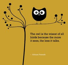 African Proverb that shows the influence and personification of animals.