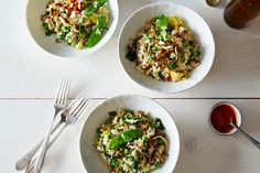 Springtime Bacon and Egg Fried Rice, a recipe on Food52