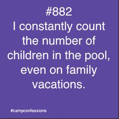 Camp Confessions, but for real I was counting people in my family at Pine springs. Lols #opcampprobs