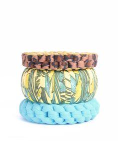 Set of 3 handmade bracelets Price $40.00